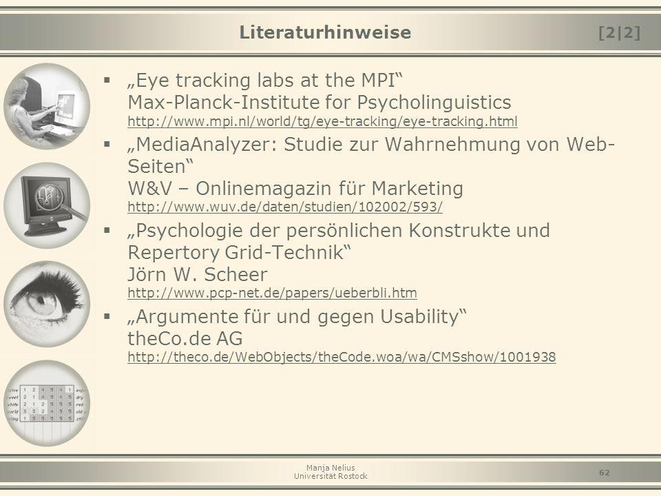 Literaturhinweise [2|2]